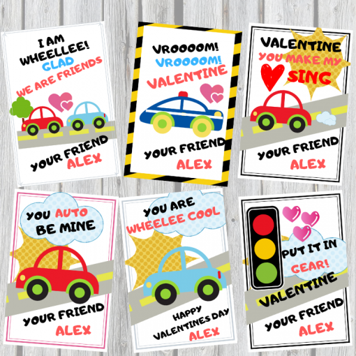 Valentines printable for kids